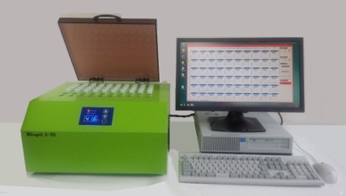 大腸菌群の自動検出装置「バイオプティ」
