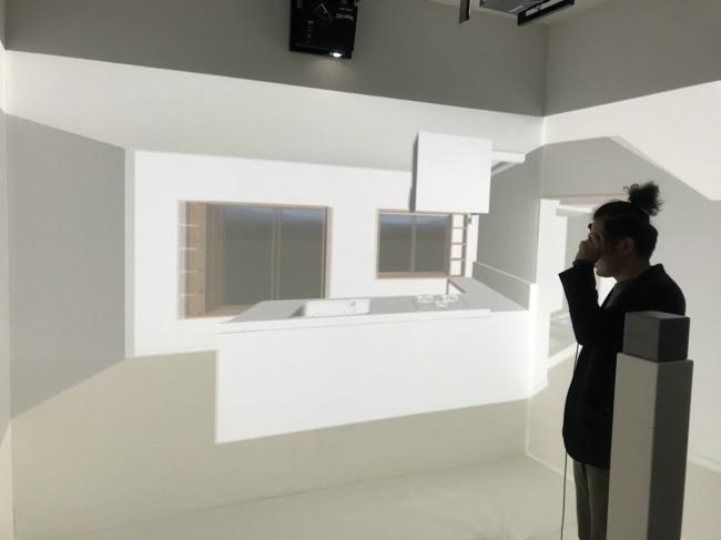 3Dバーチャル体験イメージ図