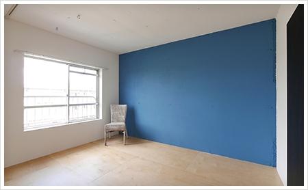 壁の塗装替え