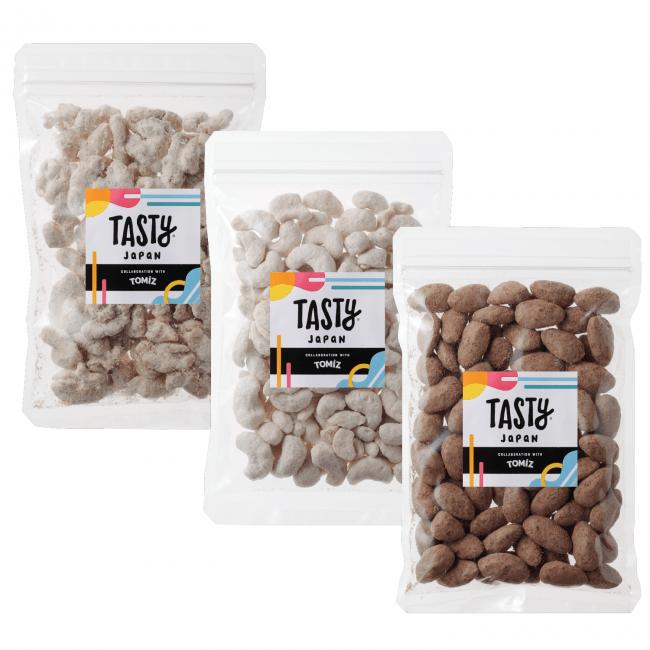 Tasty Japan & TOMIZ プロテインナッツセット