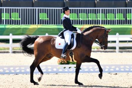 リオ・オリンピック 馬場馬術競技 8月11日、12日