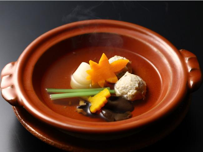 海石榴名物すっぽんのつみれ鍋