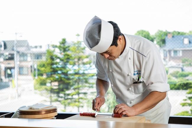 和食料理長の神山