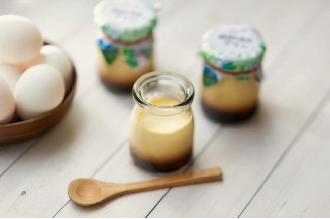 地元伊達産の牛乳と卵、そしてバニラをふんだんに使った緑の風リゾートきたゆざわオリジナルプリン