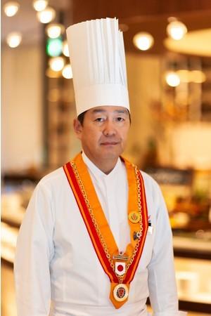 国際的な美食協会Chaîne des Rôtisseursにも認められた実績をもつ西川和高総料理長