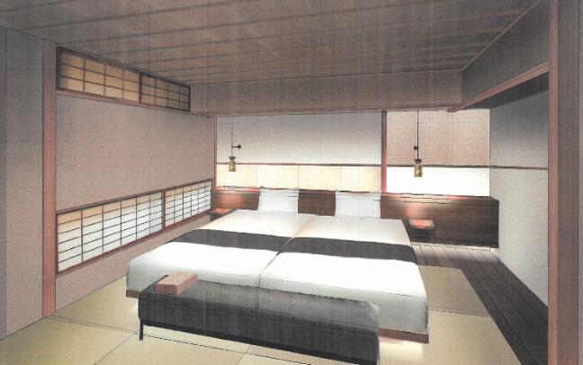 迎賓館ベッド ※画像はイメージ