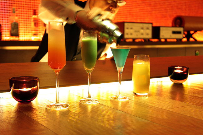 年代物のウイスキーからオリジナルカクテルまでお酒の種類も豊富
