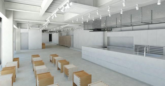 ライブキッチンとイベントスペース(1階)