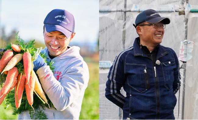 (左)農業生産法人株式会社agrity代表 小野寺淳氏 /(右)いちご農家 白井和人氏