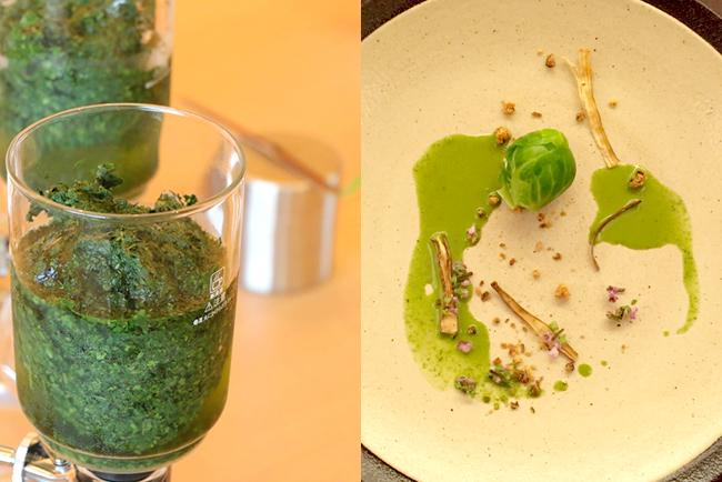 八芳園の八十八夜:福寿園のお茶と八芳園のお料理