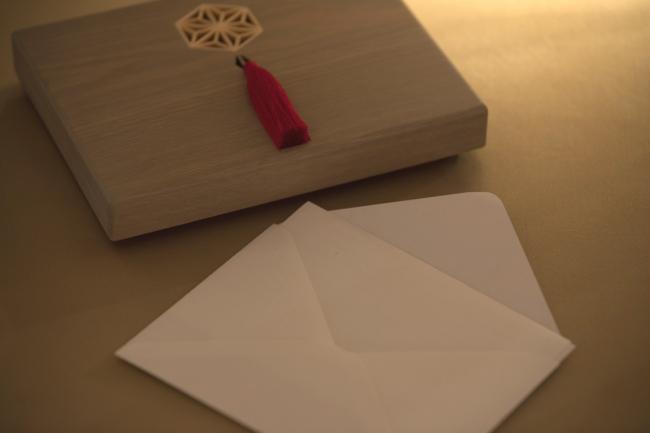 手紙専用木箱「手紙箱」