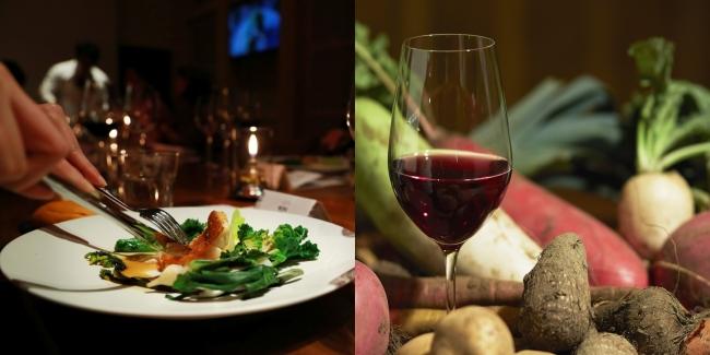 国内外の貴重なワインと食を味わう