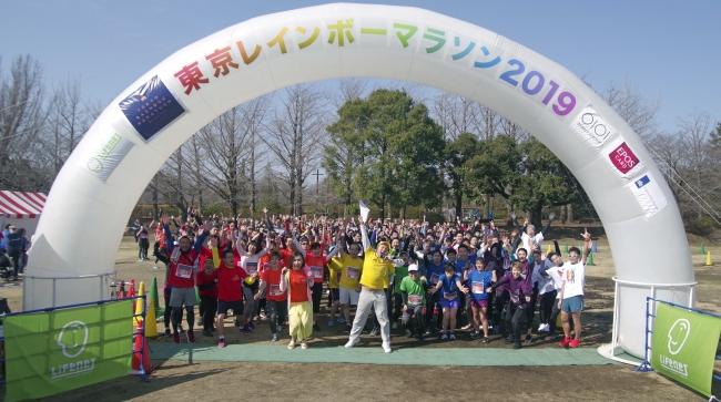 東京レインボーマラソン2019の様子