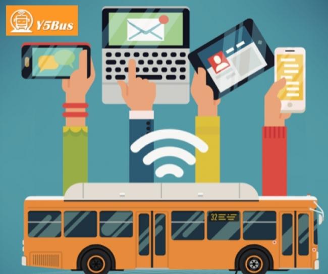 乗客は無料で無制限WiFiが利用可能に