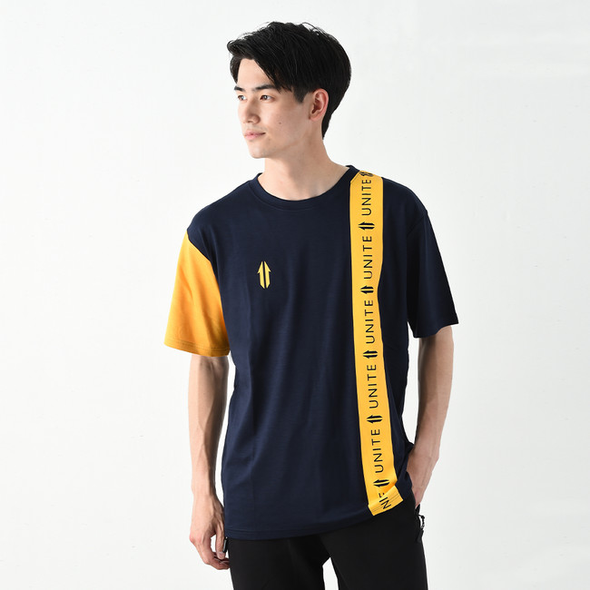 【UNITE】Line Logo Tape Tee ¥7,700(税込み)