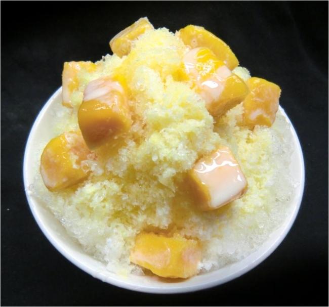 アップルマンゴーかき氷