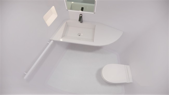 個室内トイレも完備