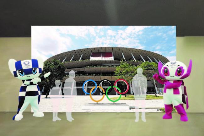 東京2020マスコット グリーティング イメージ