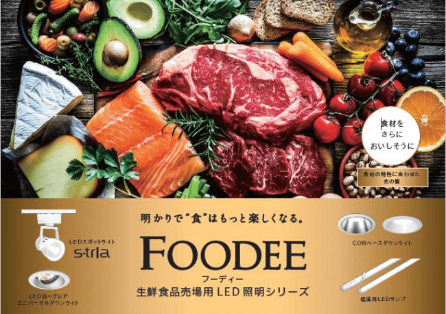 食材をよりおいしそうに演出する生鮮食品売場用LED照明シリーズ ...