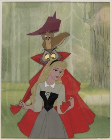 「眠れる森の美女」 オリジナルセル画(1959年)
