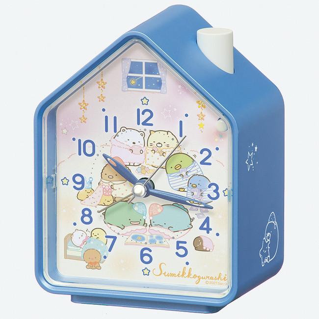 おうち時間の雰囲気が感じられる時計の形