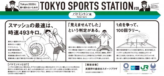 東京メトロ×JR東日本共同プロジェクト「TOKYO SPORTS STATION」の第6シリーズが始まります!! - 産経ニュース