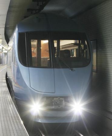 「メトロニューイヤー号」に使用するロマンスカーMSE60000形車両