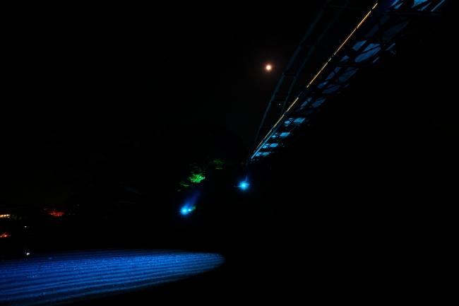 ブルーライトアップイメージ