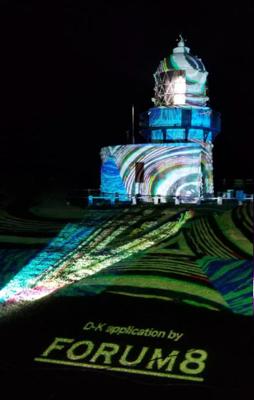 過去のデジタル掛軸DKFORUM作品:石川県珠洲市禄剛埼灯台