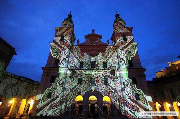 過去のデジタル掛軸DKFORUM作品:ザルツブルク世界音楽祭