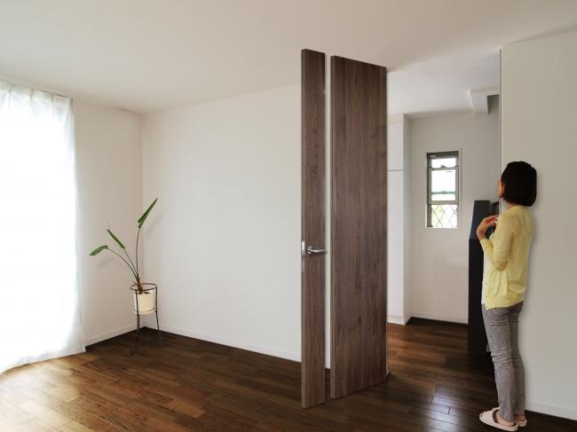 フルハイトドアの空間