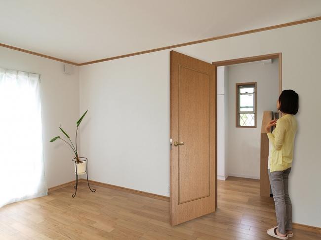 フルハイトドアでない空間