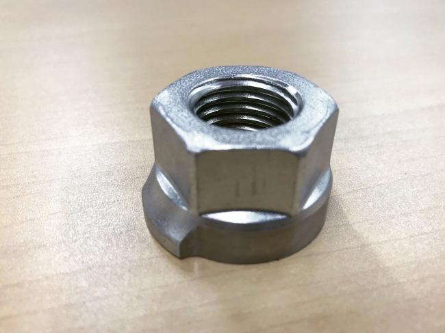 ボルトの一部を大きく突出させたAIドローン点検に特化したボルト