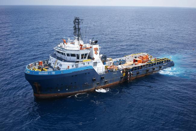 本実証で使用された大型船