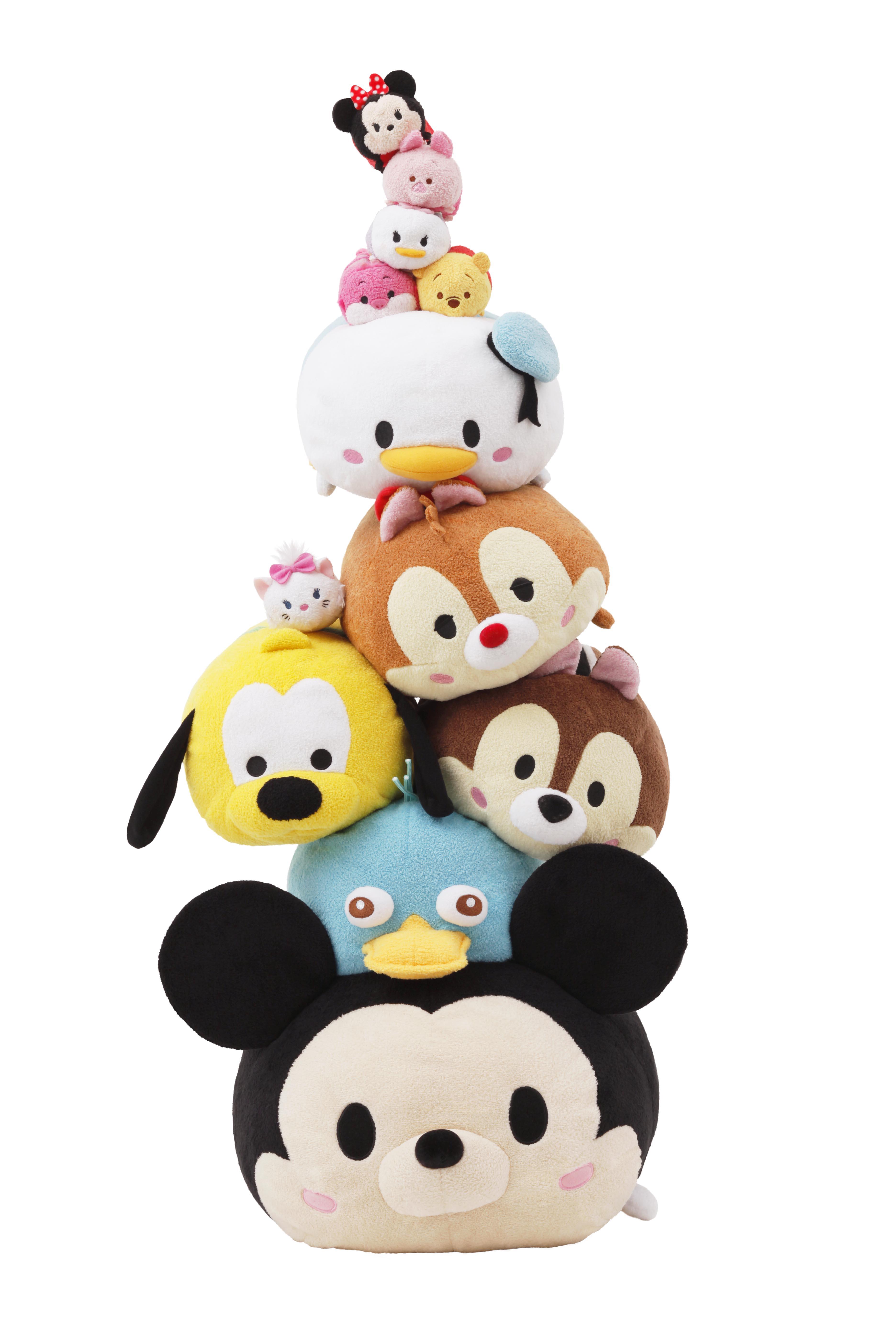 Tsum Tsumシリーズ 販売累計200万個 Line ディズニー ツムツム