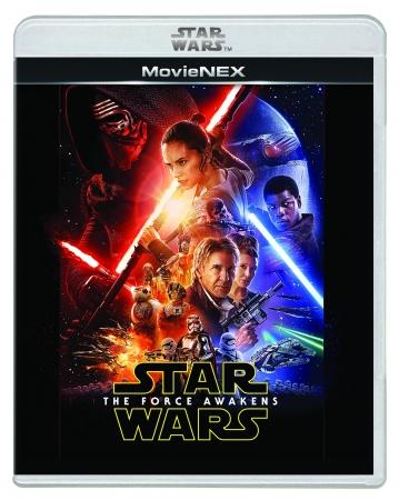 「スター・ウォーズ/フォースの覚醒」MovieNEX<ブルーレイ・DVD・デジタルコピー> & デジタル配信 好評発売中