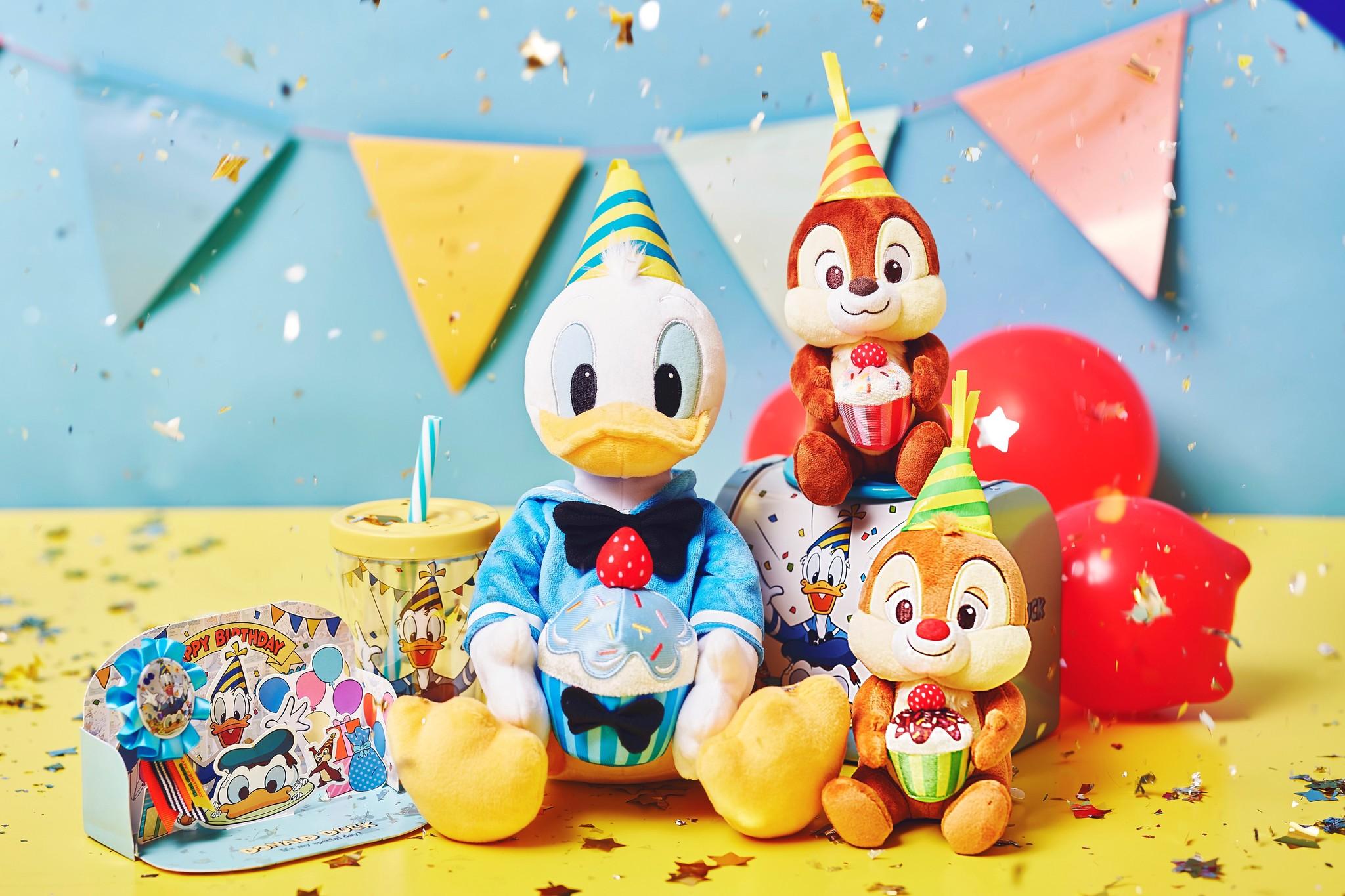 ドナルドダックの誕生日をお祝いするアイテムをshopDisney (ショップディズニー)にて5月29日(金)より先行発売