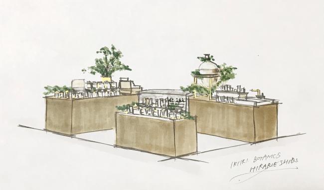 植物を多くあしらった癒しの空間