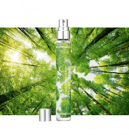 森の中の散策のひと時を描いた「WALK THROUGH FOREST」
