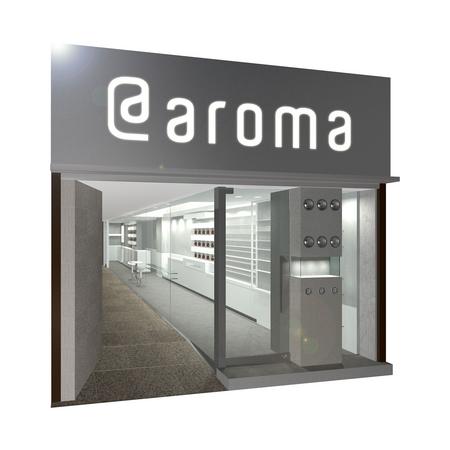 アロマ 会社 アット 株式
