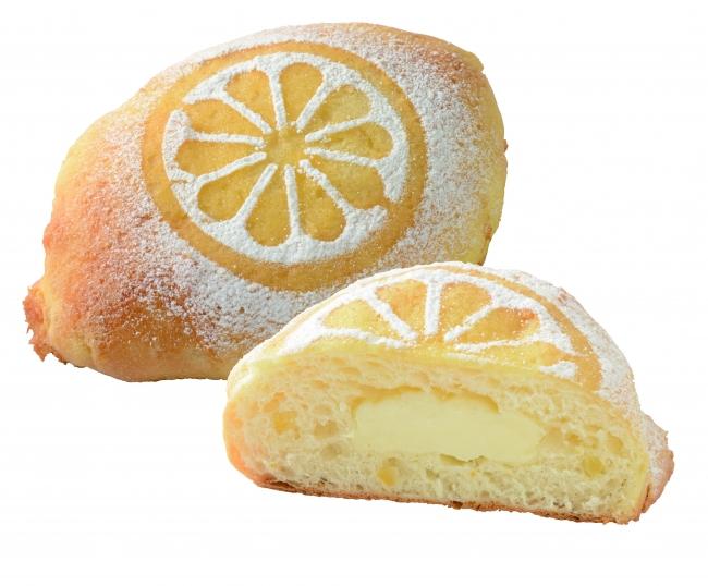 瀬戸内レモンのクリームパン