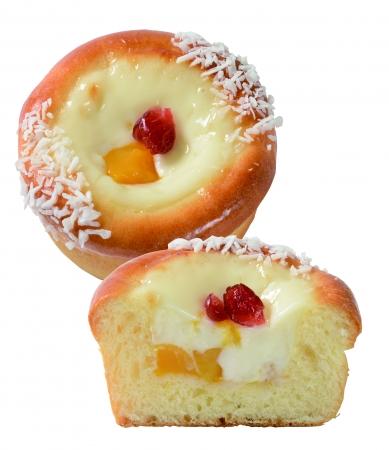 とろける杏仁マンゴークリームパン