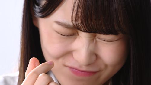 梅干茶づけ「すっぱい」篇 菅井友香さん
