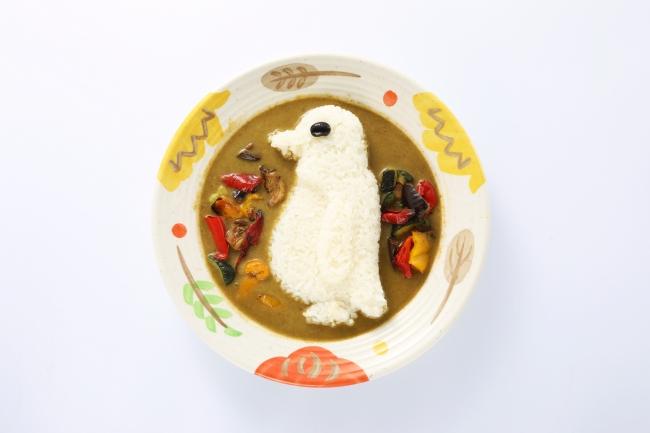 草原のペンギンカレー(820円)