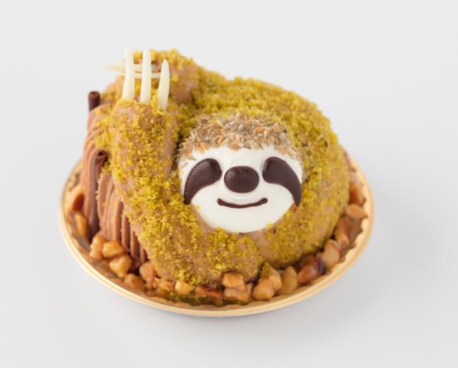 ナマケモノケーキ 650円