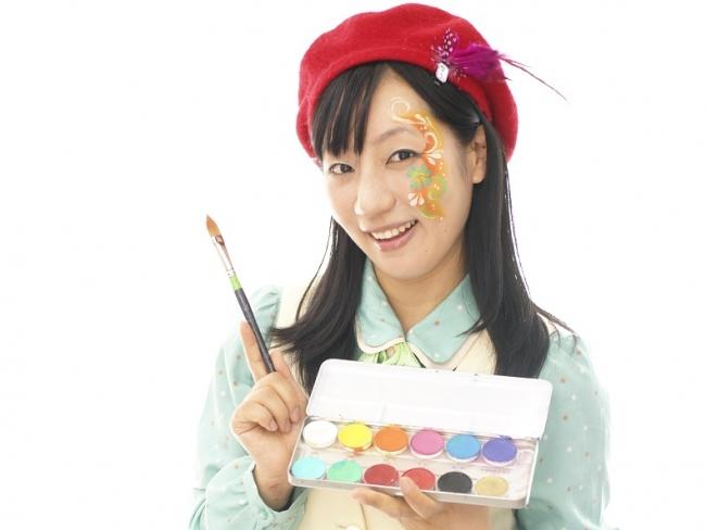 フェイスペインター・ユキさん