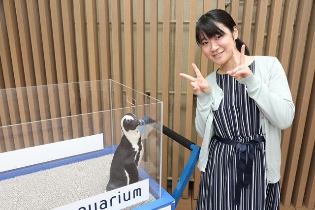 ペンギンの記念撮影