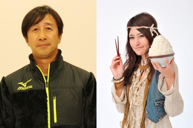 左:原田雅彦さん、右:アンジェラ佐藤さん
