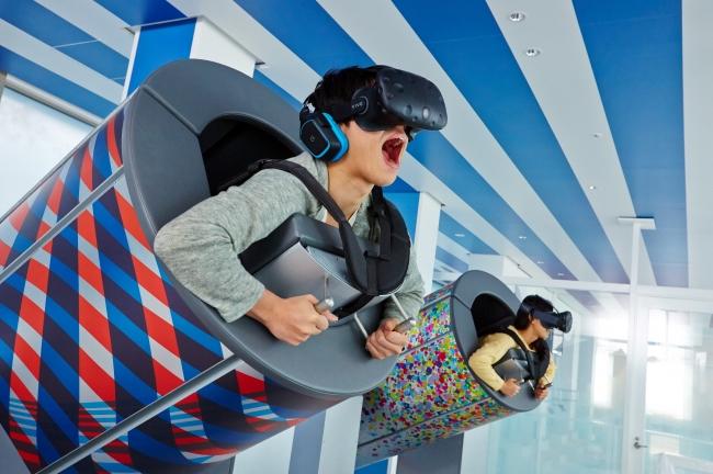 VRコンテンツ「TOKYO弾丸フライト」