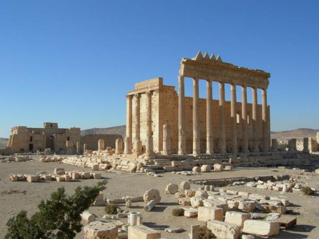 無料ナイト講座「考古学漫遊」シリア・パルミラ遺跡